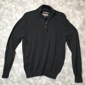Eddie Bauer Slate Cotton Cashmere Sweater